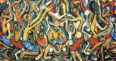 The Joy Of Democratic Freedom Poster by Mbonu Emerem