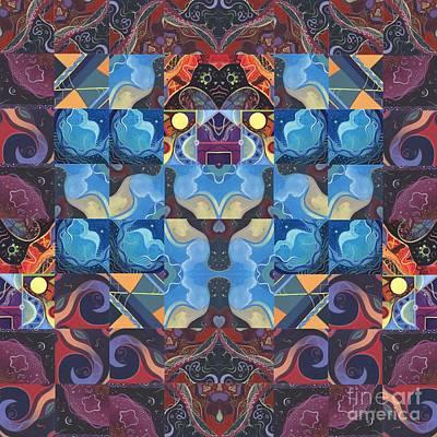 The Joy Of Design Mandala Series Puzzle 6 Arrangement 6 Poster