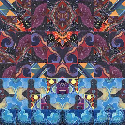 The Joy Of Design Mandala Series Puzzle 6 Arrangement 9 Poster