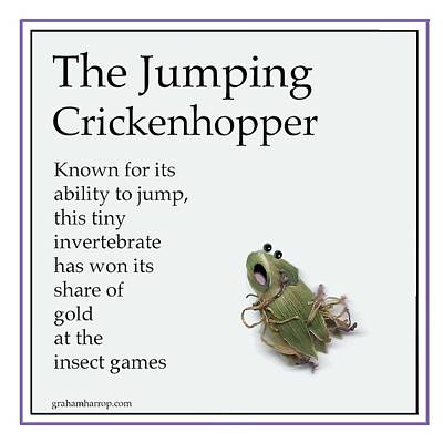 The Jumping Crickenhopper Poster