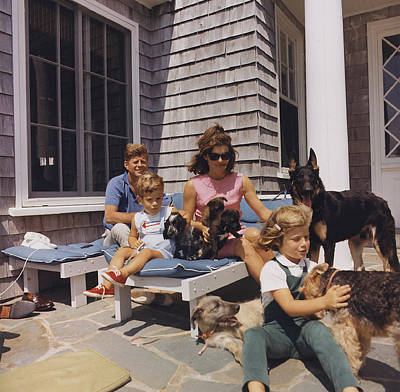 The Kennedy Family Poster by Mountain Dreams