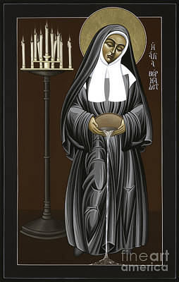 The Kenosis Of St Bernadette Of Lourdes 063 Poster