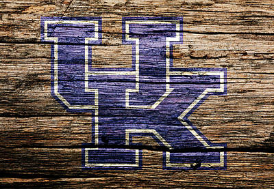 The Kentucky Wildcats  Poster by Brian Reaves