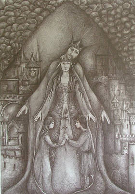 Royal Family Poster by Rita Fetisov