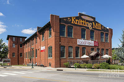 The Knitting Mill I Poster by Clarence Holmes