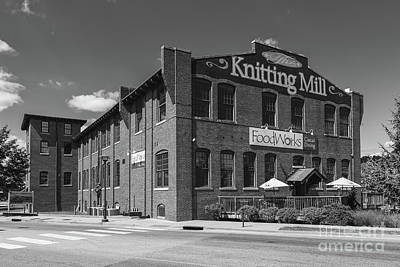 The Knitting Mill II Poster by Clarence Holmes