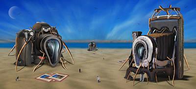 The Kodak Meltdown Panoramic Poster by Mike McGlothlen