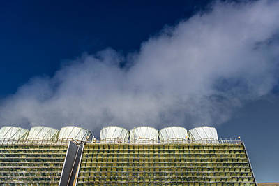 The Krafla Geothermal Power Station Poster