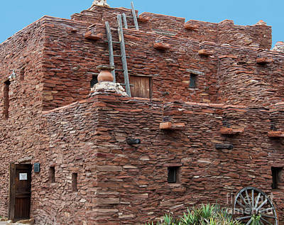 The Ladders Of The Hopi House Poster by Kirt Tisdale