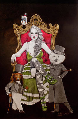The Lady Of Erstwhile And The Royal Guard Poster