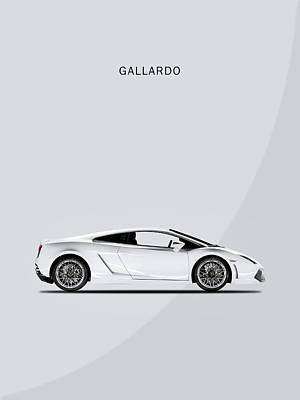 The Lamborghini Gallardo Poster