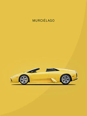 The Lamborghini Murcielago Poster
