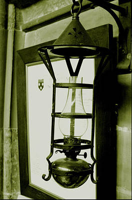 Poster featuring the photograph The Lamp by Jez C Self