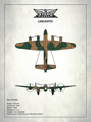 The Lancaster Poster by Mark Rogan