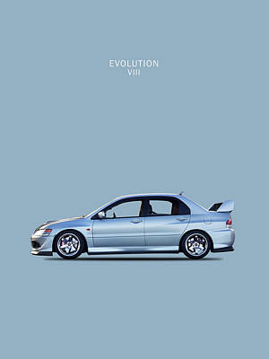 The Lancer Evolution Viii Poster by Mark Rogan