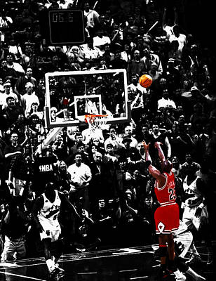 The Last Shot 23 Poster by Brian Reaves