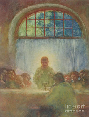 The Last Supper, 1897 Poster