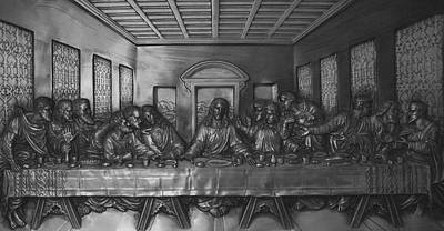 The Last Supper Poster by Christopher Kirby