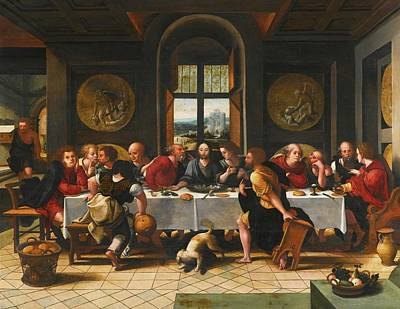 The Last Supper Poster by Pieter Coecke