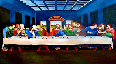 The Last Supper Poster by Ramil Roscom Guerra