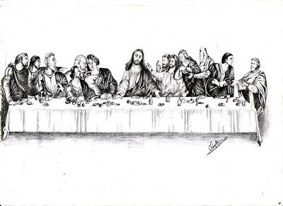 The Last Supper Poster by Ranjith Kp