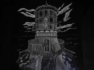 The Light At Sea Poster