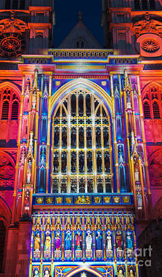 The Light Of The Spirit Westminster Abbey London Poster by Tim Gainey