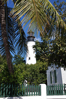 The Lighthouse In Key West II Poster