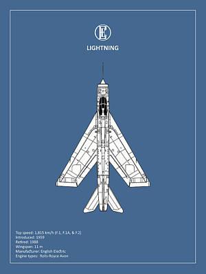 The Lightning Poster by Mark Rogan