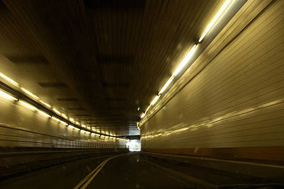 The Lincoln Tunnel In New York City Poster by Joel Sartore