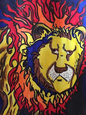 The Lions Mane. Poster