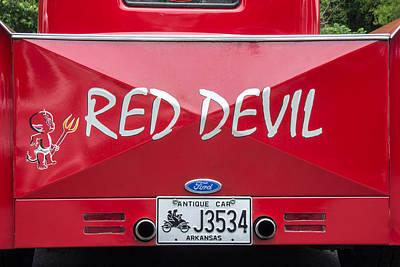 The Little Red Devil Poster by Robert Kinser