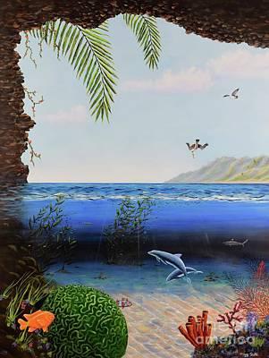 The Living Ocean Poster