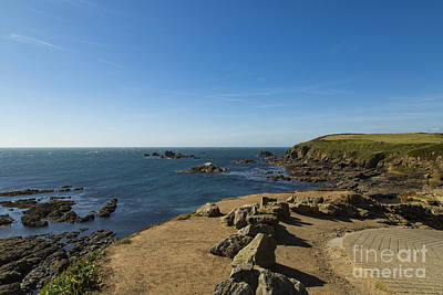 Poster featuring the photograph The Lizard Point by Brian Roscorla