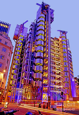 The Lloyds Building In The City Of London Poster