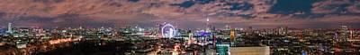 The London Skyline Poster
