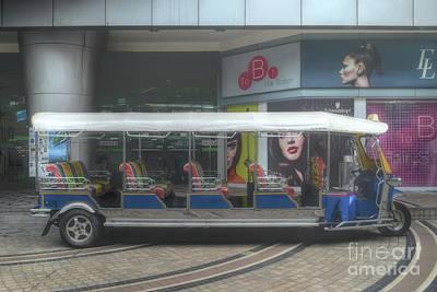 the longest tuk tuk in Bangkok Poster