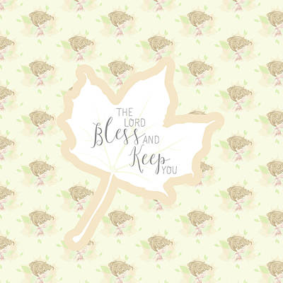 The Lord Bless You And Keep You Poster by Precious Moments