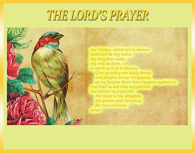 The Lord's Prayer Poster by John Parker