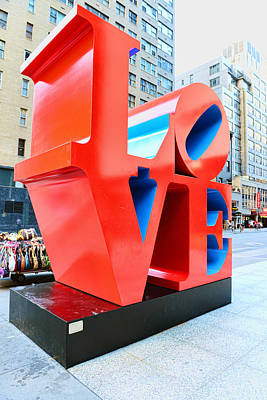 The Love Sculpture Poster by Paul Ward