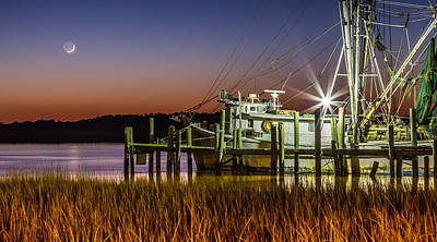 The Low Country Way - Folly Beach Sc Poster