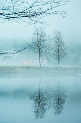 The Magic In The Fog Poster by Mirra Photography
