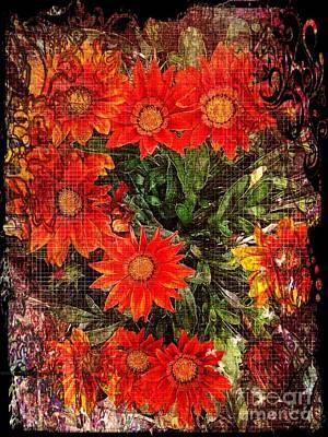 The Magical Flower Garden Poster