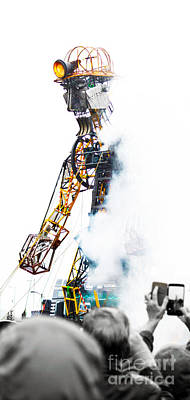 The Man Engine Poster by Terri Waters