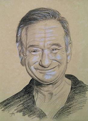 Poster featuring the drawing The Man With The Smile by Jennifer Hotai