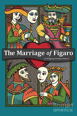 The Marriage Of Figaro Poster by Joe Barsin