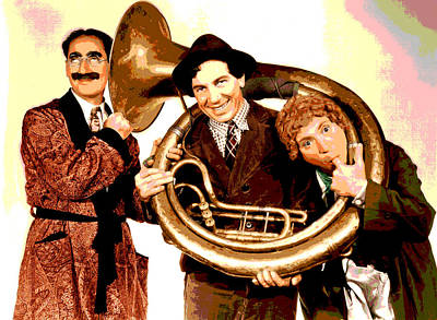 The Marx Brothers Poster by Charles Shoup