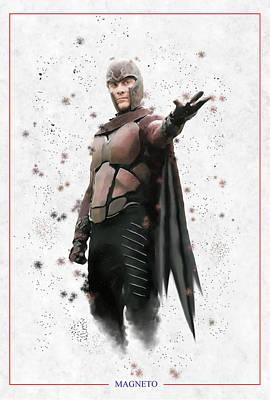 The Master Of Magnetism Poster by Dakota Randall