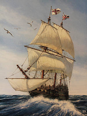 The Mayflower Poster by Dan Nance
