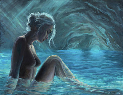 The Mermaid Of The Blue Cave Poster